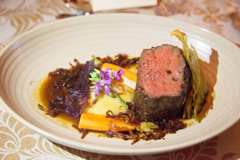 Wagyu Pot A Feu at Winemaker Dinner