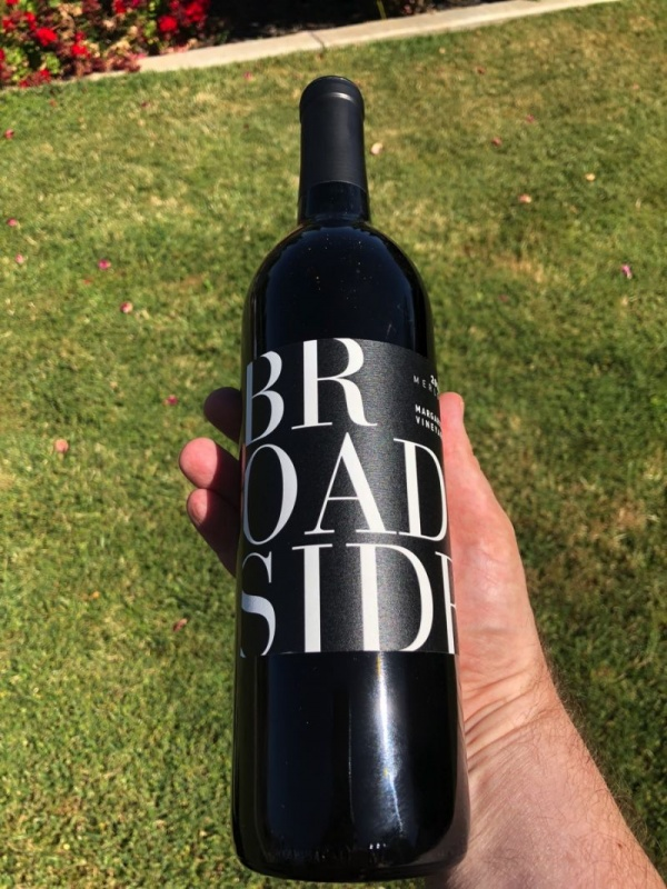 winetraveleats.com - Broadside Merlot