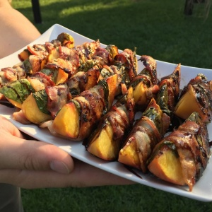 Recipe of the week – Grilled Peach Appetizer – April