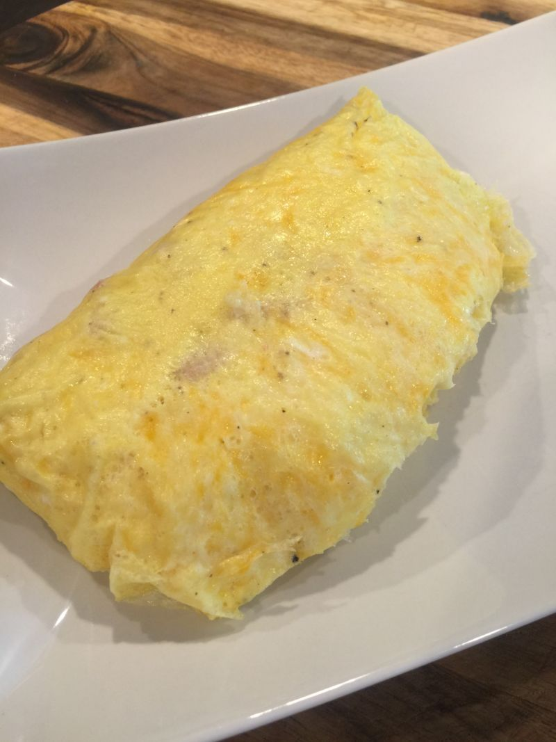 Drachena: recipe for a lush omelet with different ingredients 7