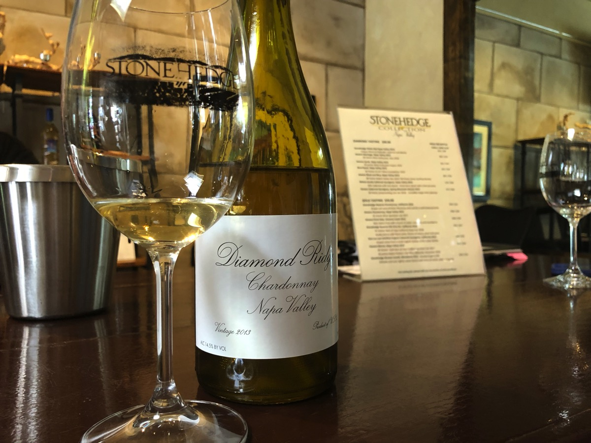 Stonehedge - Diamond Ridge Chardonnay