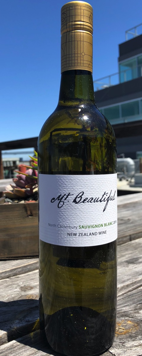 Mt Beautiful New Zealand Sauvignon Blanc