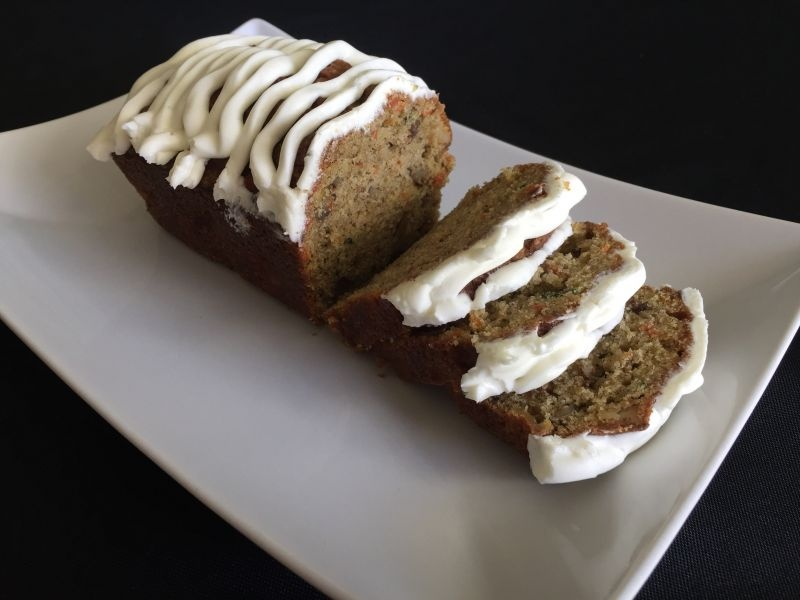 Recipe -Zucchini, Apple and Carrot Loaf – April