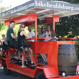 Bike Healdsburg, the new fun way to do a wine tour…