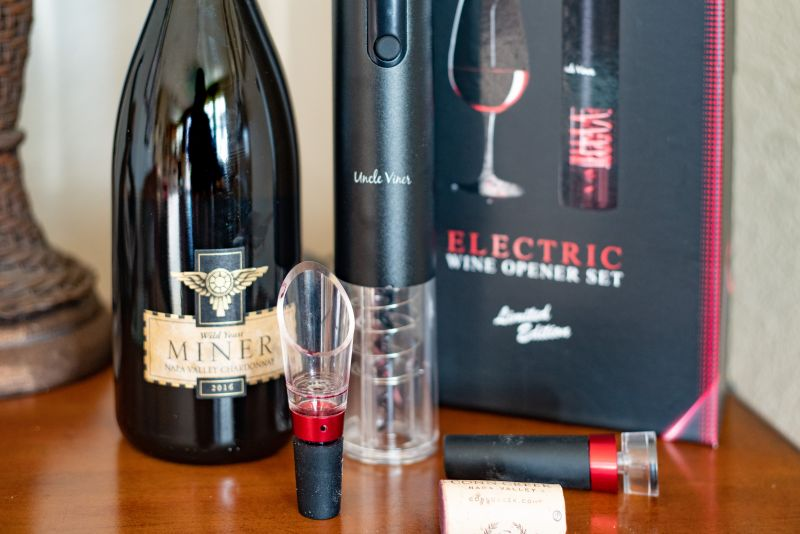 Uncle Viner Electric Wine Opener Set Review